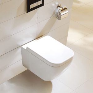 Spülrandloses Wand-WC inkl. Soft-Close Sitz WHR-6021
